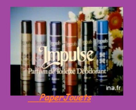 Déodorants IMPULSE (1980 à 1997)