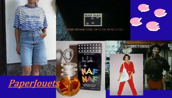 MODE FEMININE 80/90's...  NAF NAF