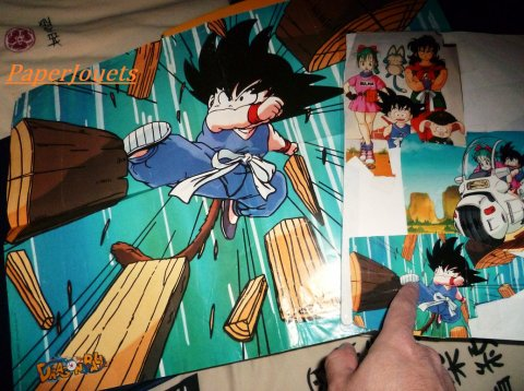 POSTERS 80's....   Dragon Ball (1990)