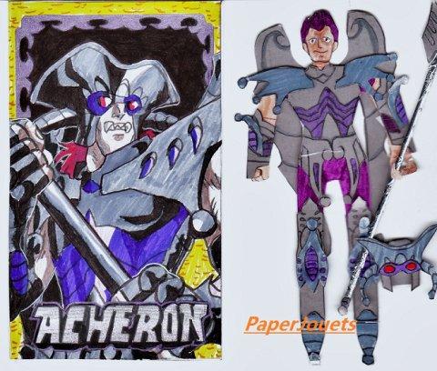 CDZ Paperjouets___Charon de l'étoile céleste d'ACHERON