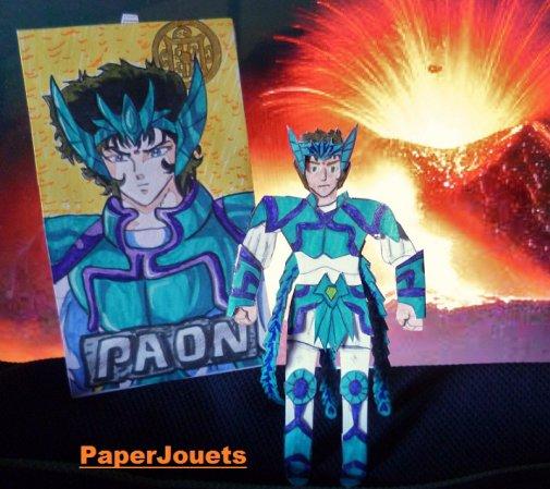 CDZ Paperjouets__ Chevalier Shiva du PAON