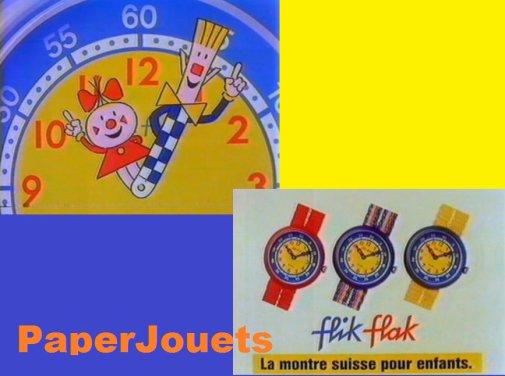 Montres FLIK-FLAK par Swatch (1989)