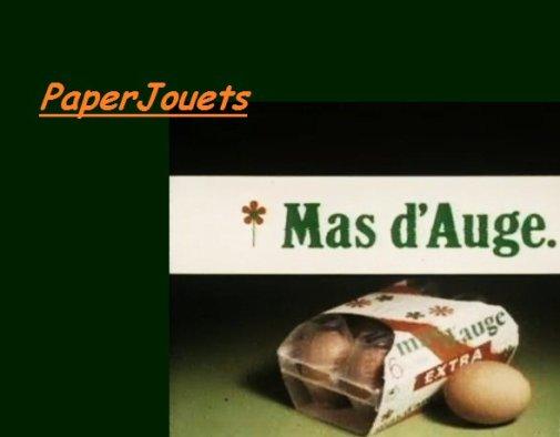 PUB 80's____ MAS D'AUGE (1984)