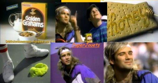 PUB 90's___céréales GOLDEN GRAHAMS  (1992)