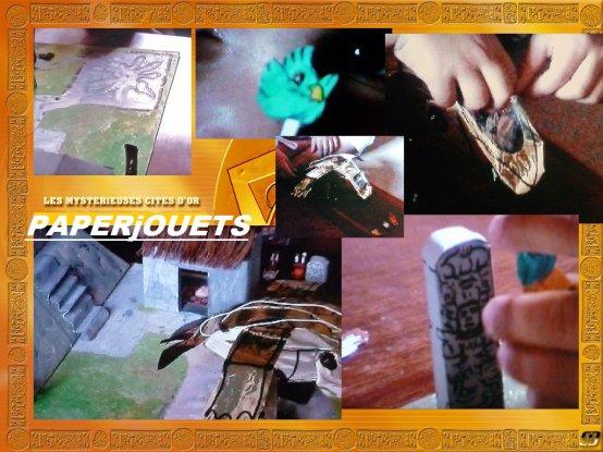 Créations Paperjouets: LE GRAND CONDOR & LE PLATEAU CITES D'OR (2005)