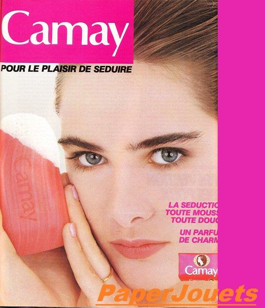 PUB 80's____le savon CAMAY (1986)