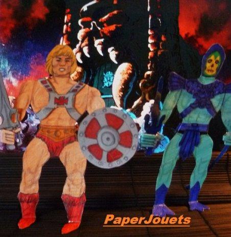 Maîtres de l'Univers Paperjouets____MUSCLOR