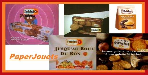 REGALADES 80's___ les biscuits St Michel