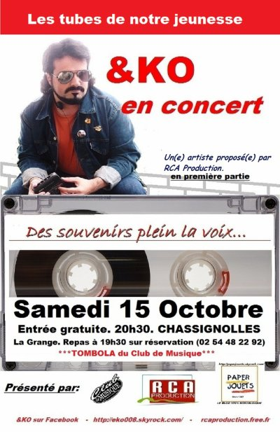 ATTENTION! CONCERT EXCEPTIONNEL le 15 octobre 2011