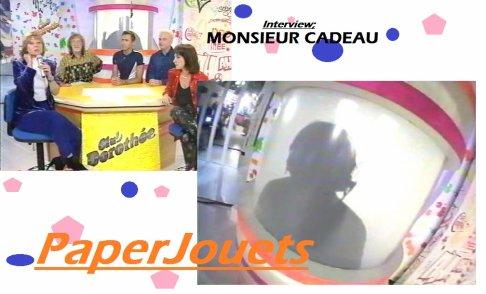 INTERVIEW EXCLUSIVE de... Mr CADEAU !!!! (Club Dorothée)