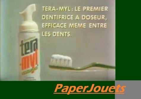 PUB 80's___ le dentifrice TERAMYL