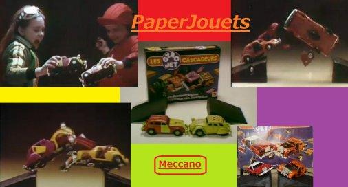 """JOUETS 80's___Les """"Cascadeurs"""" (GYRO JETS) de Meccano (1978)"""
