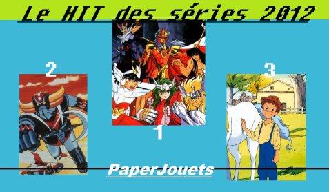 LE HIT DES SERIES (dessins animés/sentai)... LES RESULTATS 2012