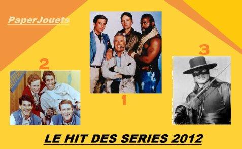 """LE GRAND HIT DES SERIES 2012: les séries """"live""""..."""