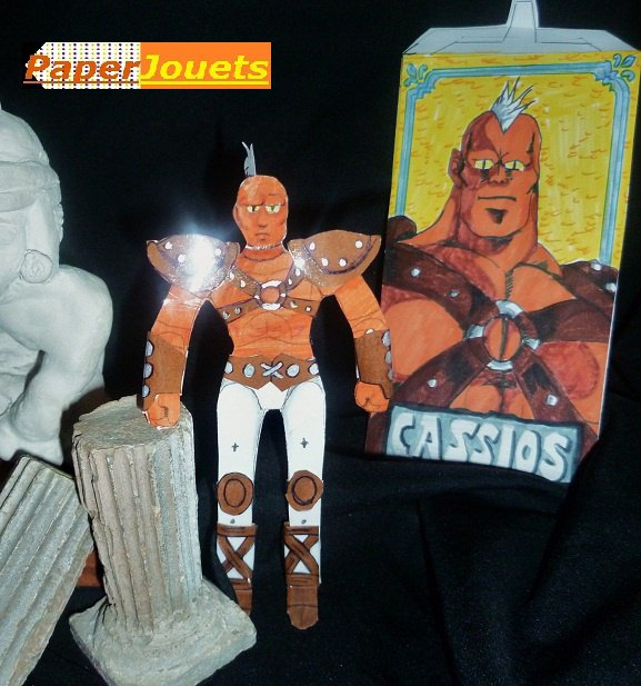 CDZ Paperjouets N°95___ CASSIOS