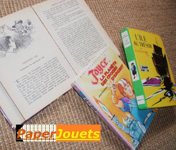 Livres de notre enfance____ LA BIBLIOTHEQUE ROSE et VERTE