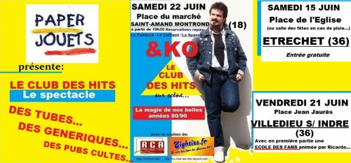 LE SPECTACLE 80s arrive...
