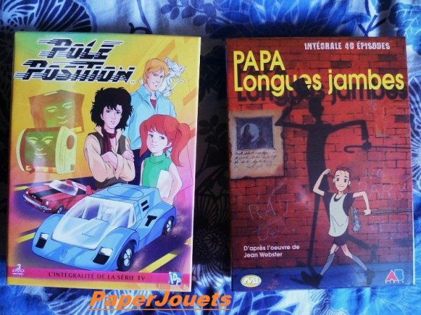Deux coffrets DVD que j'attendais...