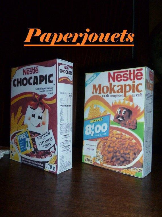Les céréales Nestlé...