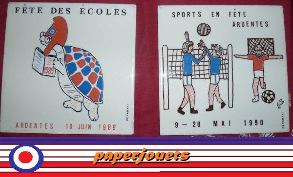 DESSOUS DE PLAT du Bicentenaire et de la fête des sports...