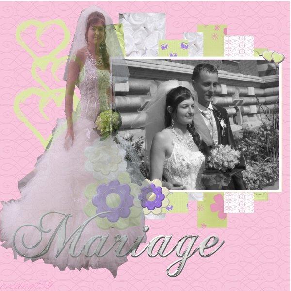 ❤ mariage de ma cousine justine ❤