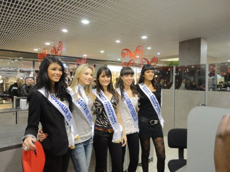 Peu de temps apres l'election Miss France 2011