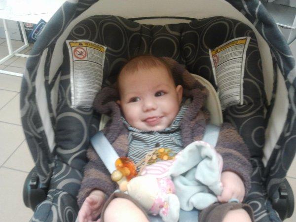 ma petite princesse a 3 mois