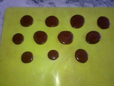 MACARONS CHOCO PISTACHE