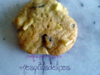 cookie pommes choco !!!