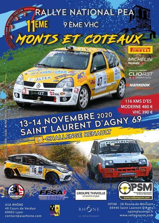 Monts et Coteaux.......ANNULE !