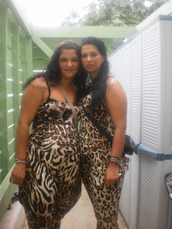mes 2 tante