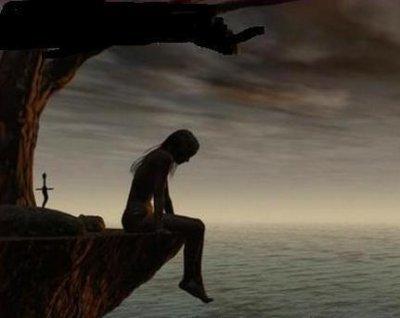 Souvent je ve rester seul au monde!!! - miochka triste =( NS59