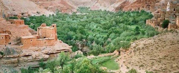 kasbah's et simplicité d'hebergemnt des habiatants