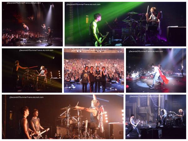 Le 6 mai Concert à Sydney hier pour les garçons !