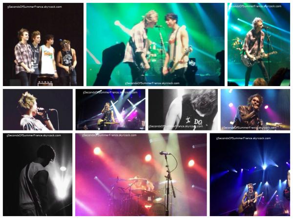 Le 7 mai Concert à Brisbane ce soir les garçons !
