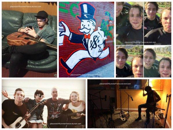Le 11 février Les 5SOS sont toujours en studio !