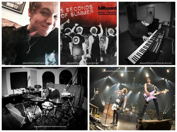Le 9 avril 2015 Les 5SOS continuent de travailler sur le deuxième album !