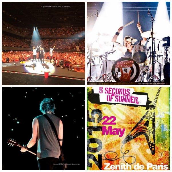 Le 22 mai 2015 Concert à Paris ce soir !