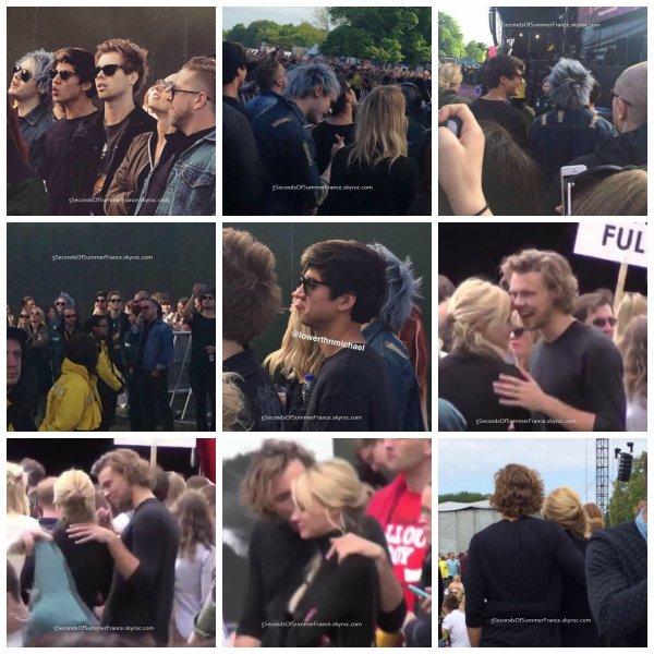 Le 24 mai 2015 Les garçons sont au repos !