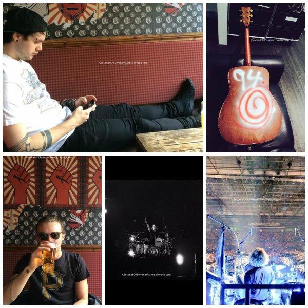 Le 6 juin 2015 Second concert à Birmingham ce soir !