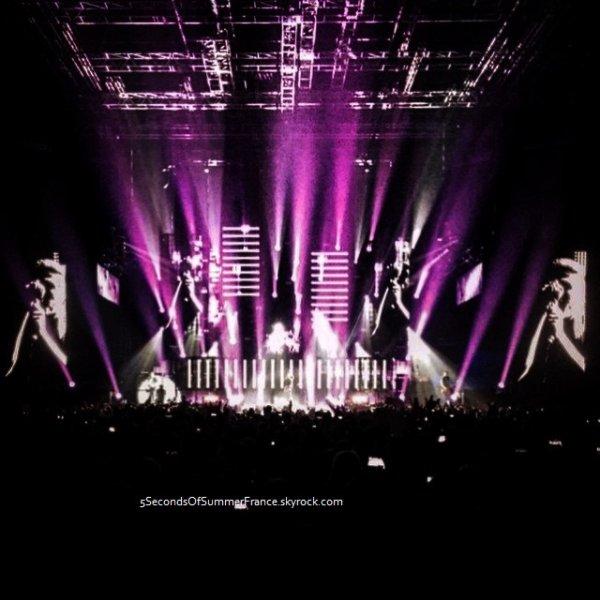 Le 7 juin 2015 Concert à Cardiff ce soir !