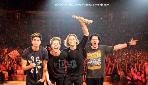 Le 17 juin 2015 Concert à Auckland demain !