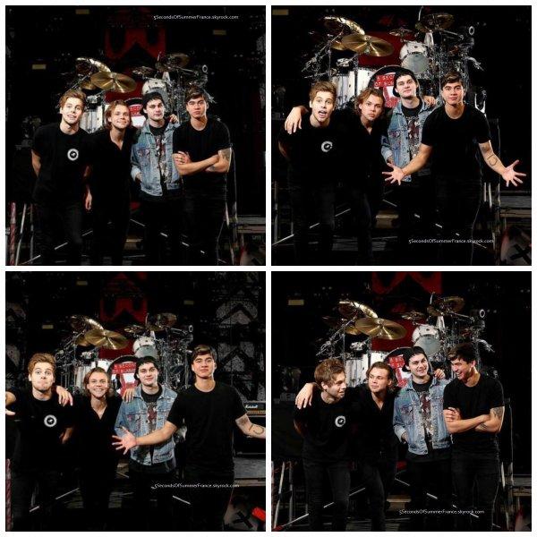 Le 25 juin 2015 Concert à Melbourne aujourd'hui !