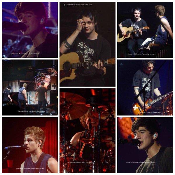 Le 9 août Fin de la première partie de la tournée américaine !