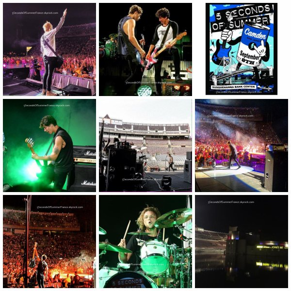 Le 3 septembre 2015 Concert à Camden demain !