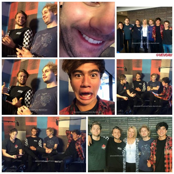 Le 2 octobre 2015 Promo à Melbourne aujourd'hui !