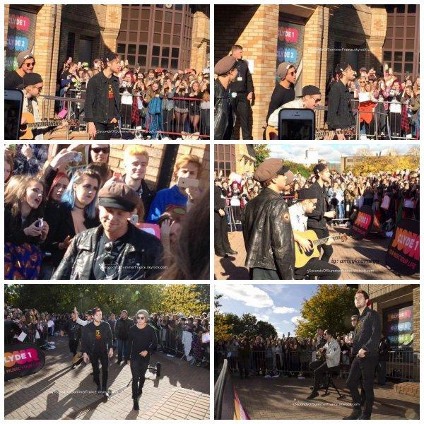 Le 14 octobre 2015 Les 5SOS continuent la promo !
