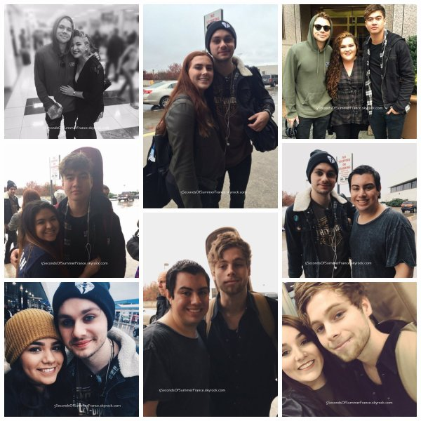 Le 2 novembre 2015 Les 5SOS sont de retour à New-York !