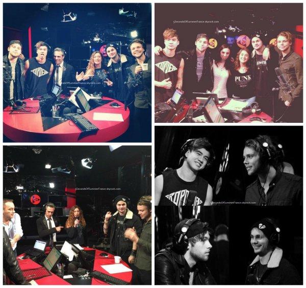 Le 13 novembre 2015 Performance à Swedish Idol aujourd'hui !