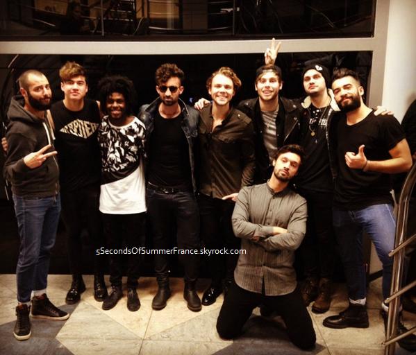 Le 15 novembre 2015 Les 5SOS seraient à Los Angeles !